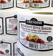 Cavendish Produce Rollstock Pressure Sensitive Labels
