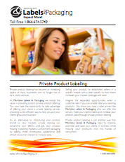 Maritime Labels & Packaging Private Product Labeling